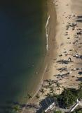 Widok Z Lotu Ptaka Praia Vermelha, Rio De Janeiro zdjęcie royalty free