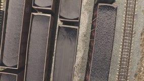 Widok z lotu ptaka przemysłowa infrastruktura przy Koksowniczą produkcją, zbiory