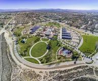 Widok z lotu ptaka Rancho Cucamonga central park Obrazy Royalty Free