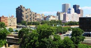 Widok z lotu ptaka Rochester, Nowy Jork Obraz Royalty Free