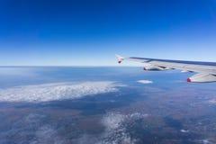 Widok z lotu ptaka Rumuńska wieś zdjęcie stock