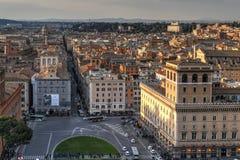 Widok Z Lotu Ptaka - Rzym, Włochy zdjęcie royalty free