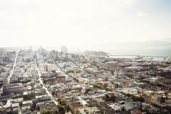 Widok z lotu ptaka San Fransisco, Kalifornia Obrazy Stock