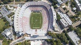 Widok Z Lotu Ptaka sanford stadium zdjęcie royalty free
