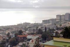 Widok Z Lotu Ptaka Santa Cruz de Tenerife Zdjęcia Stock