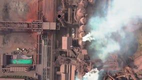 widok z lotu ptaka stara fabryka zbiory
