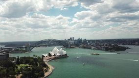 Widok z lotu ptaka Sydney turystyczni punkty Australia turystyka zbiory