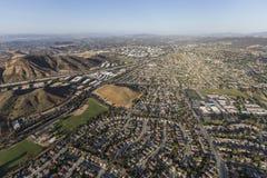 Widok z lotu ptaka Tysiąc dębów Kalifornia Obraz Stock