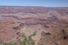 Widok z lotu ptaka uroczystego jaru park narodowy, Arizona, panoramiczny obraz stock