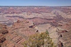 Widok z lotu ptaka uroczystego jaru park narodowy, Arizona, panoramiczny zdjęcie royalty free