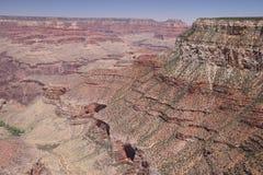 Widok z lotu ptaka uroczystego jaru park narodowy, Arizona, panoramiczny zdjęcia royalty free