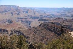 Widok z lotu ptaka uroczystego jaru park narodowy, Arizona, panoramiczny fotografia royalty free
