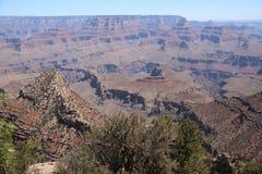 Widok z lotu ptaka uroczystego jaru park narodowy, Arizona, panoramiczny obrazy stock