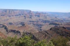 Widok z lotu ptaka uroczystego jaru park narodowy, Arizona, panoramiczny obraz royalty free