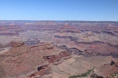 Widok z lotu ptaka uroczystego jaru park narodowy, Arizona Południowi zachody, panoramiczni zdjęcie stock