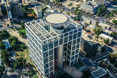 Widok z lotu ptaka w Tel Aviv Zdjęcia Royalty Free