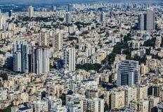 Widok z lotu ptaka w Tel Aviv Obraz Royalty Free
