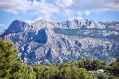 Widok z lotu ptaka Ważny Puig, Mallorca, Hiszpania obrazy stock