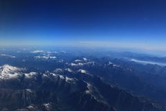 Widok Z Lotu Ptaka Waszyngtoński pasmo górskie Obrazy Royalty Free