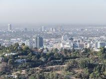 Widok z lotu ptaka westwood pejzaż miejski fotografia stock