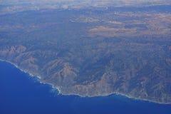 Widok z lotu ptaka widok górski Obraz Stock