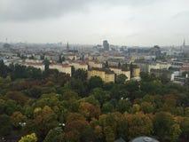 Widok z lotu ptaka Wiedeń, Austria Zdjęcie Stock