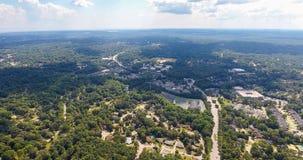 Widok z lotu ptaka wisząca ozdoba, Alabama Fotografia Stock