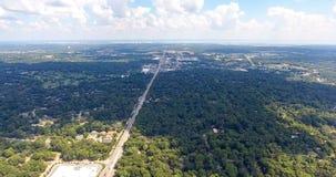Widok z lotu ptaka wisząca ozdoba, Alabama Zdjęcie Royalty Free