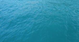 Widok z lotu ptaka wody powierzchnia trutniem zbiory wideo