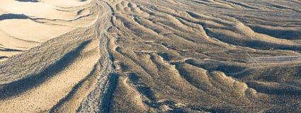 Widok Z Lotu Ptaka Wygryzeni żleby w pustyni Blisko Las Vegas obrazy stock