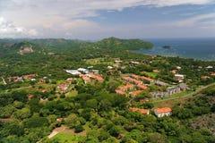 Widok z lotu ptaka zachodni Costa Rica obrazy royalty free