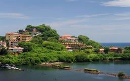Widok z lotu ptaka zachodni Costa Rica fotografia stock