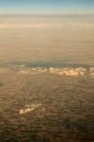 Widok z lotu ptaka ziemia Zdjęcia Royalty Free
