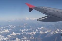 widok z skrzydłem Zdjęcia Stock