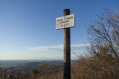 Widok z wierzchu góry Ermada Grmada Obrazy Stock