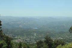 Widok z wierzchu góry fotografia stock