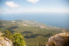 Widok z wierzchu góry Petri Zdjęcie Stock