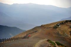 Widok z wierzchu góry róży szczytu 2320 m obrazy royalty free