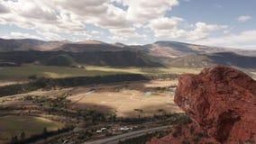 Widok z wierzchu lew skały Obrazy Stock