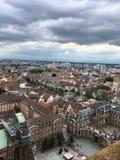 Widok z wierzchu Notre-Dame de Strasburg Fotografia Royalty Free