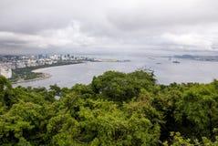 Widok zatoczka Botafogo w Rio De Janeiro obraz royalty free