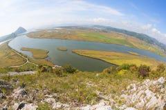 Widok zatoka Nakhodka i miasto Nakhodka, Rosja fotografia stock