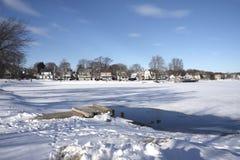 widok zima Fotografia Stock