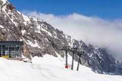 Widok Zugspitze Niemcy Obrazy Royalty Free