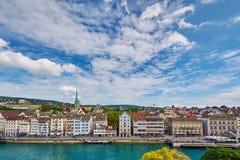 widok Zurich Obraz Stock