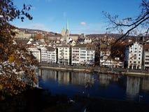 widok Zurich zdjęcie royalty free