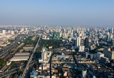 Widoki Bangkok Baiyoke niebo Obraz Royalty Free