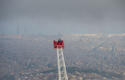 Widoki Barcelona miasto Obraz Royalty Free