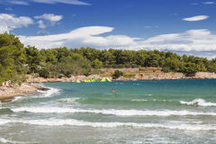 Widoki Chorwacja hvar wyspa Fotografia Royalty Free