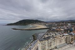 Widoki conche plaża Fotografia Royalty Free